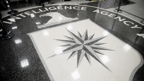 The main lobby of the Central Intelligence Agency in Langley, Va., seen last year.