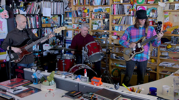 The Messthetics perform a Tiny Desk Concert on April 26, 2018.