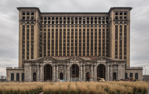 Michigan Central Station has symbolized Detroit's past century of growth and decay.