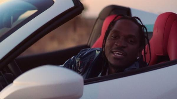 "A still from Pusha T's ""If You Know You Know"" video."