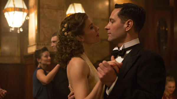 On The Down Low And Outside: Estella Huni (Sienna Miller) and Moe Berg (Paul Rudd) dance around the truth in <em>The Catcher Was a Spy</em>.