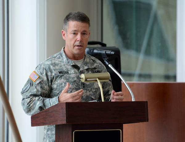 "Lt. Gen. Austin S. ""Scott"" Miller, shown here in 2015, a 57-year-old West Point graduate, has spent much of his career with Special Operators, working in the shadows on battlefields that include Bosnia, Iraq and Afghanistan. He most recently was commander of the Joint Special Operations Command, which includes Delta Force and SEAL Team 6."