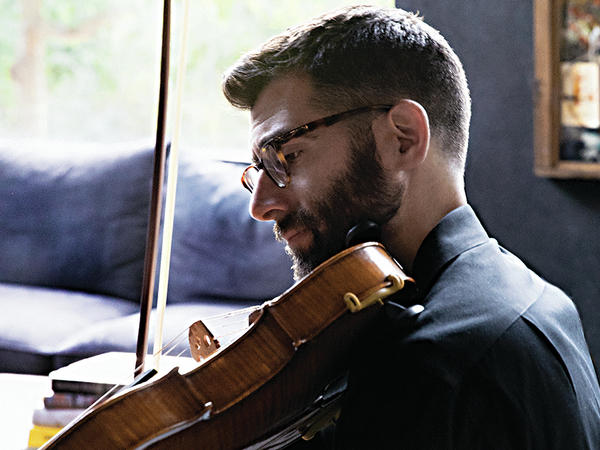Violist Jonah Sirota's debut album is <em>STRONG SAD</em>.