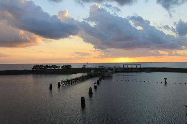 Excess waters from Lake Okeechobee started being discharged June 1.