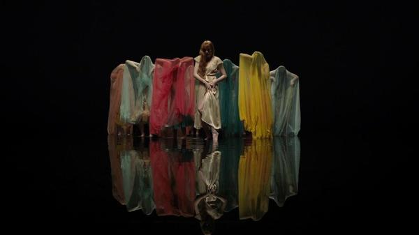 A still from Florence + The Machine's new video.