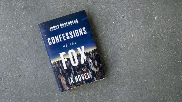 cover to <em>Confessions of the Fox</em> by Jordy Rosenberg