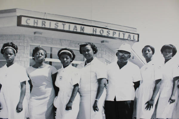 A new collection of artifacts and photographs tells the story of the evolution of black healthcare in Miami-Dade in the Black Archives Historic Lyric Theater in Overtown on Wednesday, June 20, 2018. The exhibit partnered with Jackson Memorial Hospital.