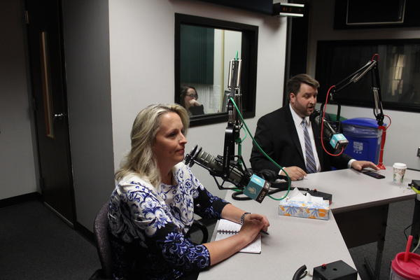 Sylvia Williams, left, and Brent Welder are two of the six Democratic contenders in Kansas' August primary election. The winner will go on to challenge Republican Kevin Yoder for representation of Kansas' 3rd District in November's general election.