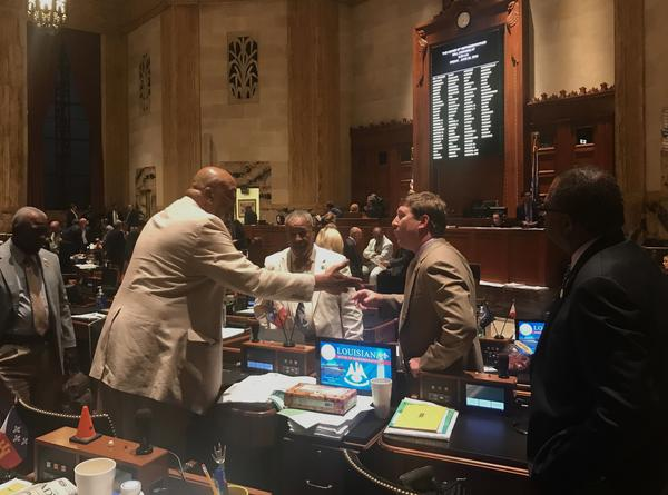 Tax bills stalled in the Louisiana House of Representatives Thursday, June 21.