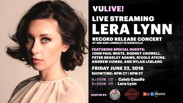 Watch Lera Lynn's Record Release Concert, live via VuHaus on June 22, 2018.