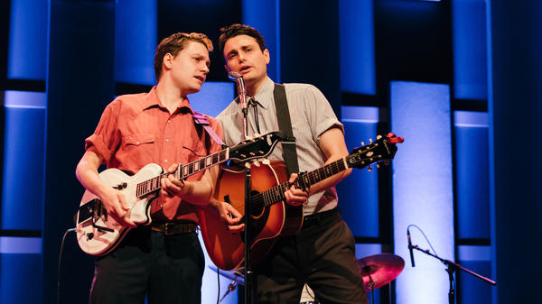 Ruen Brothers performing live at World Cafe Live in Philadelphia.