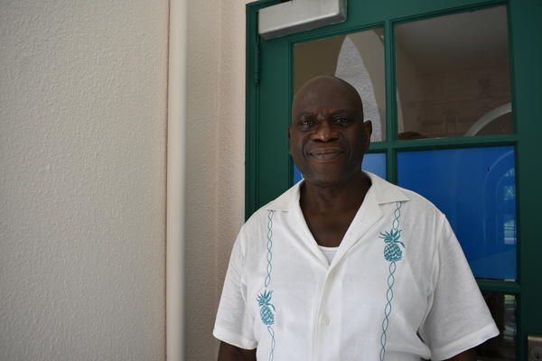 Brad Corie was the first African-American born at Jackson Memorial Hospital in 1953.