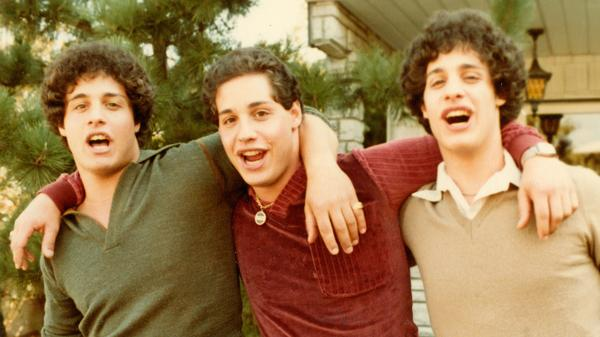L to R: Eddy Galland, David Kellman and Bobby Shafran were identical triplets separated at birth; the documentary <em>Three Identical Strangers</em> explores their fascinating story. ... Stories.