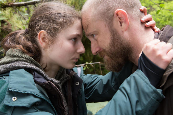 "Thomasin Harcourt McKenzie and Ben Foster in a still from ""Leave No Trace."" (Scott Green/Bleecker Street)"