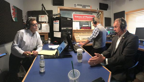 U.S. Interior Secretary Ryan Zinke spoke on the radio show Voices of Montana Wednesday.