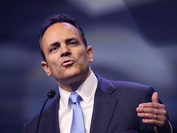 Kentucky Gov. Matt Bevin is trying to add work requirements to the state's Medicaid program. A judge has blocked that request.