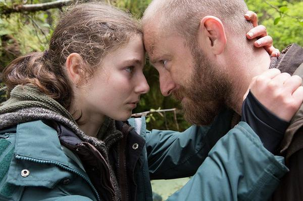 <p>Thomasin McKenzie and Ben Foster in the film 'Leave No Trace'</p>