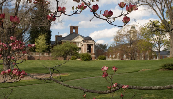 The Sweet Briar College campus in western Virginia.