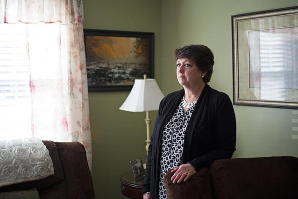 Karen Wilson has forgiven her father's killer but does not agree with his release from prison.