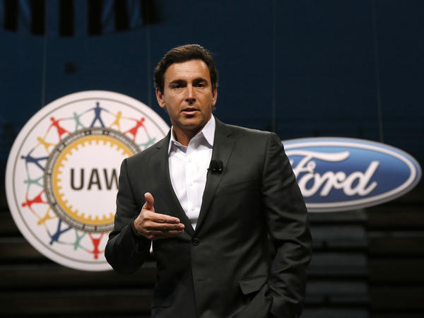 Former Ford Motor Company President and CEO Mark Fields.