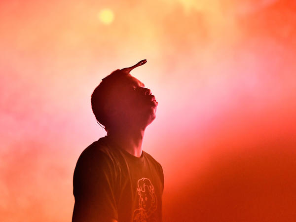 Vince Staples performs in October at Camp Flog Gnaw Carnival 2017 in L.A.'s Exposition Park.