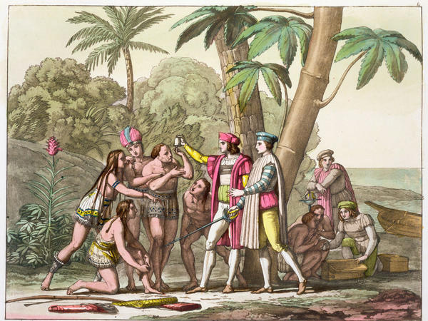 By 1495, Christopher Columbus was in trouble. The riches he had imagined finding in Asia were not materializing in the New World, and the costs of his voyages were mounting. Sending indigenous people back to Europe as slaves became his solution.