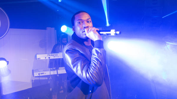Meek Mills performs in Atlanta, Ga. in November 2015.