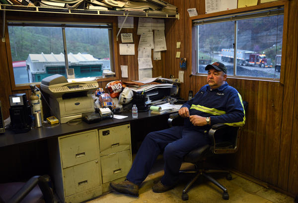 Gary Dotson co-owns Cavalier, a small business that operates this mine in eastern Kentucky. He and his buddy went into business together back in the '80s, and over the years they have made good money.