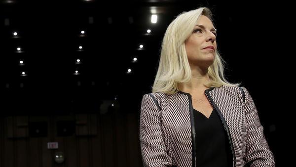 Homeland Security Secretary Kirstjen Nielsen at a Senate Judiciary Committee hearing in January.