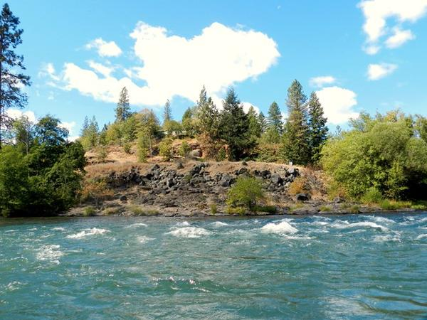 <p>The spot near Trail, Oregon where the Pacific Connector Pipeline is proposed to cross the Rogue River.</p>