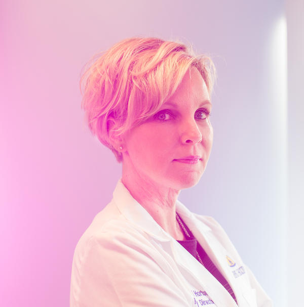 Karen Horton is chair of the Johns Hopkins radiology department and is collaborating with Fishman on The Felix Project.