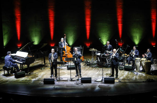 Arturo O'Farrill (at piano) and the Afro Latin Jazz Orchestra close out the <em>Artes De Cuba: From the Island to the World </em>concert series.