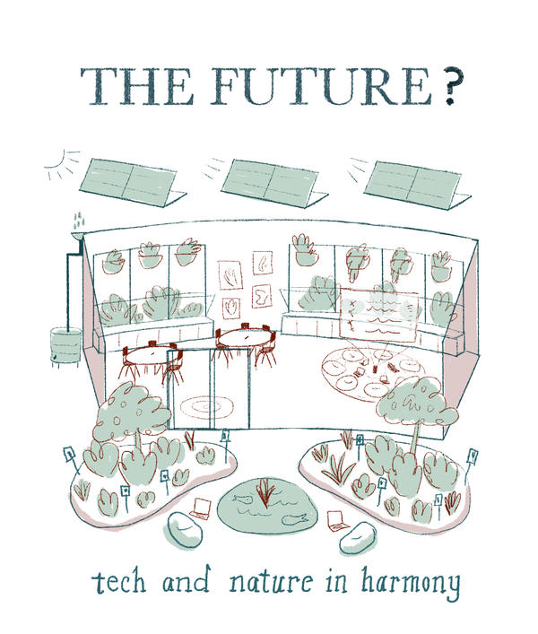 <strong>The Future?</strong> Sustainability and digital technology are two major trends. Some industrial-era ideas, like daylighting, are as relevant as ever.