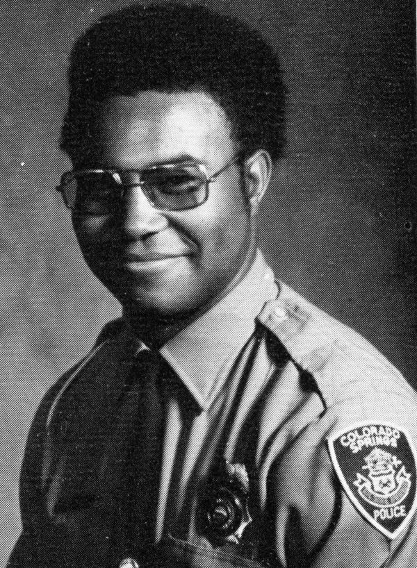 Ron Stallworth (pictured here in 1975) was the first black detective in the history of the Colorado Springs Police Department.