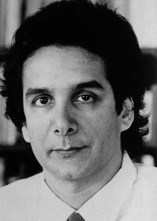 Charles Krauthammer, pictured in 1987, was a columnist at the <em>Washington Post </em>and a commentator on Fox News.