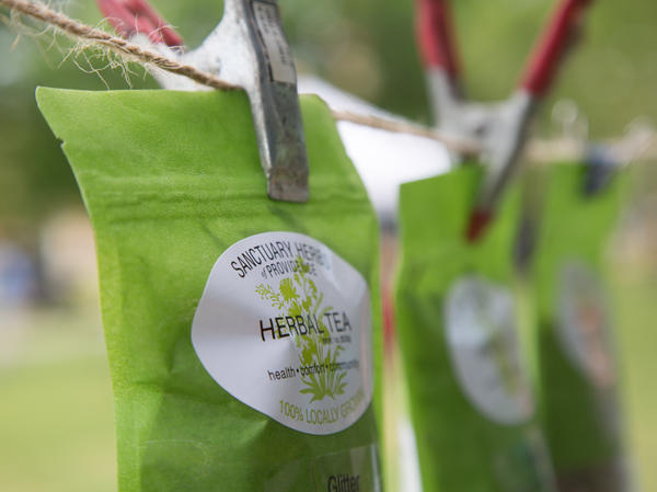 The herbs for Sanctuary Herbs of Providence's teas are grown by first-generation immigrants.