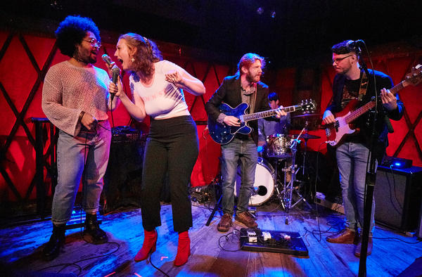 Lady Lush and the Vinyls at Rockwood Music Hall in NYC