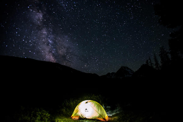 Ninety-nine percent of Americans live where they can't see the Milky Way at night.