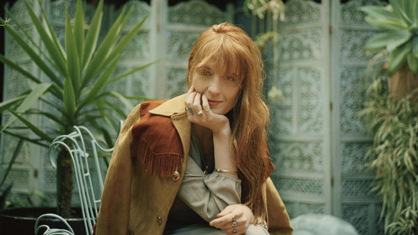 """I used metaphor a lot in earlier work to hide what it was that I was actually trying to say,"" Florence Welch says."