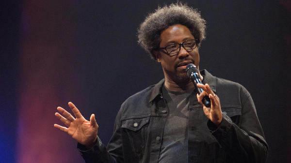 "W. Kamau Bell's new Netflix comedy special is<em> Private School Negro</em>. He says that for him, the word ""negro"" feels ""classically, importantly black."""