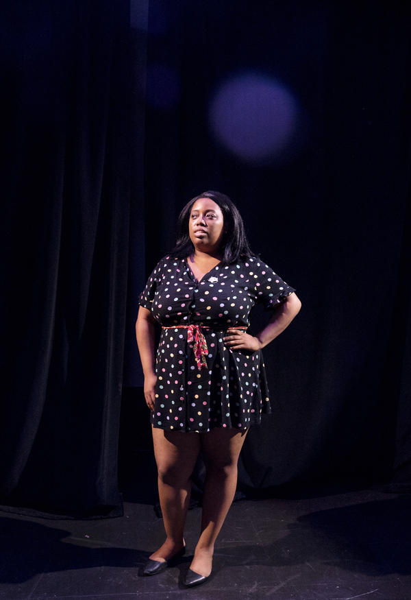 Star Johnson, resident of D.C., is the writer and lead voice of the musical East of the River.