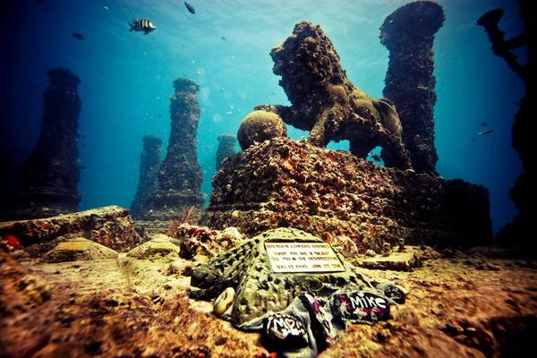 Kim Brandell is a sculpture artist and his latest project is the Neptune Memorial Reef. The man-made reef serves as a popular dive destination, an art piece and an alternative to cemetery burial.