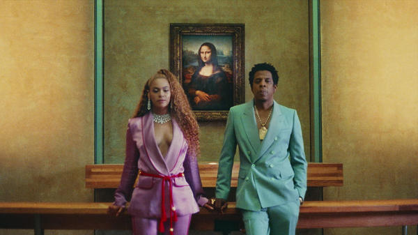 "The Carters' ""Apes***."""