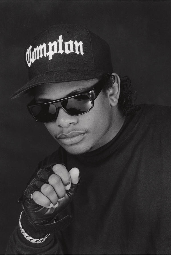 Rodriguez photographed rapper Eazy-E and his group N.W.A. in Burbank, Calif., in the 1980s.