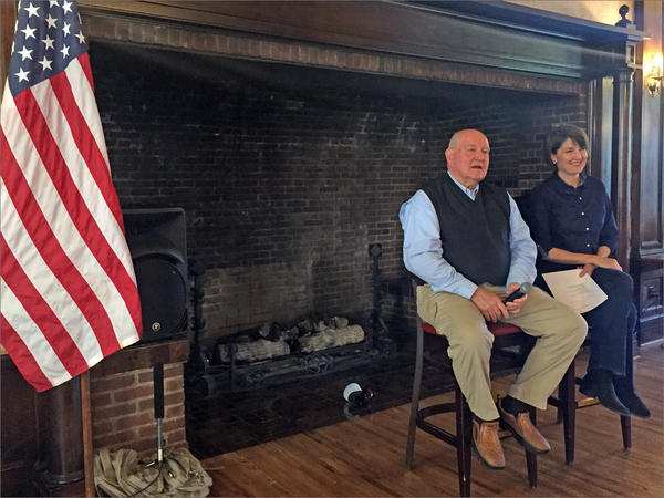 U.S. Secretary of Agriculture Sonny Perdue was in Washington state Monday alongside Rep. Cathy McMorris Rodgers. During a breakfast with leaders in forestry and agriculture, trade was the biggest topic of conversation.