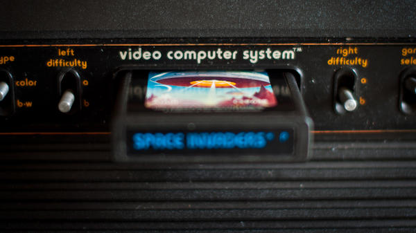 The Atari 2600. Hey, this is still cool, right?