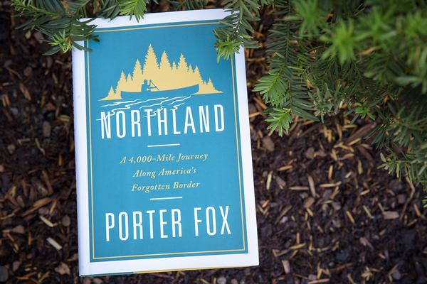 """Northland,"" by Porter Fox. (Robin Lubbock/WBUR)"