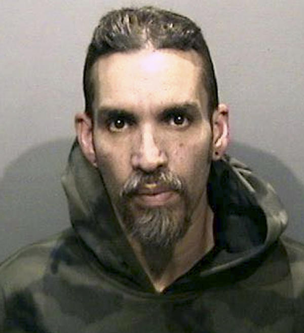 Derick Almena, seen in a photo released by the Alameda County Sheriff's Office, pleaded no contest to involuntary manslaughter in connection with the deadly 2016 fire in the Calif. warehouse he managed.