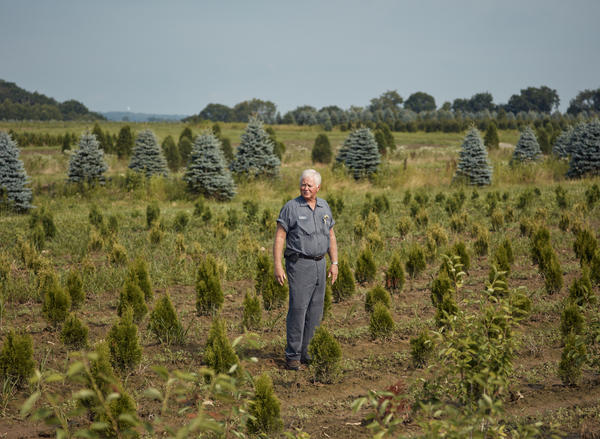 Alan Dambach developed tremors that caused his hands to shake uncontrollably. His condition made it difficult to work on his family's tree farm in Fombell, Pa.