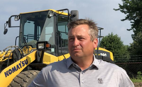 Matt Roland, president of Roland Machinery, says some suppliers have warned of price hikes up to 25 percent owing to the steel tariffs.